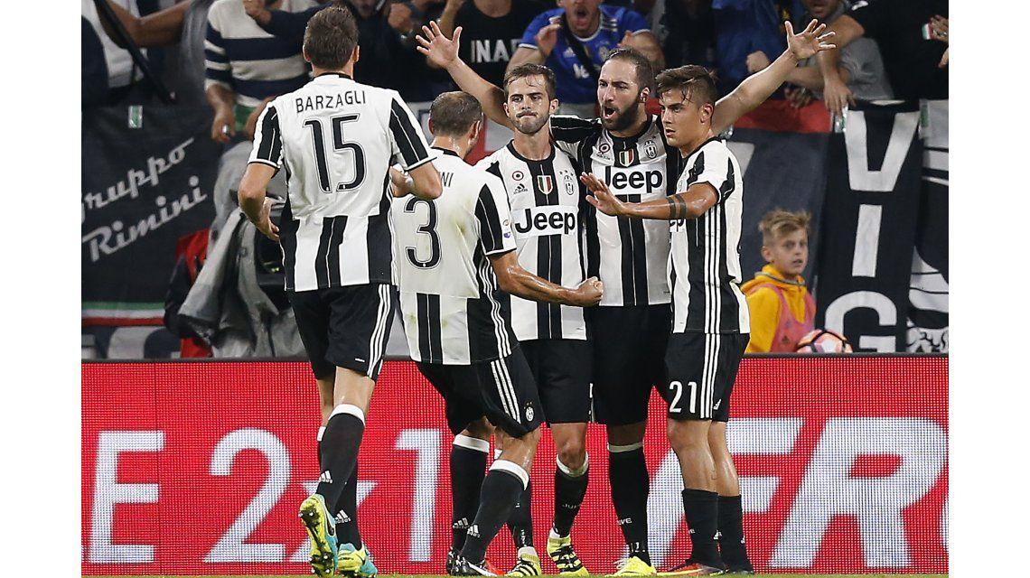De la mano de Higuaín, Juventus llegó a la punta de la Serie A