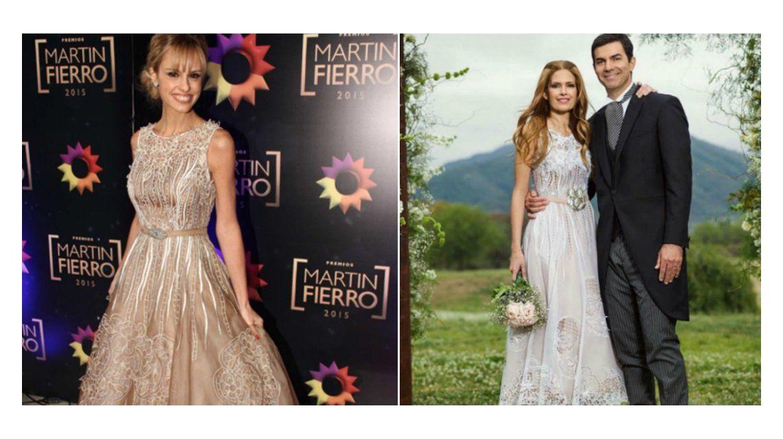 Habló el diseñador de la polémica: ¿por qué el vestido de Macedo era parecido al de Fabbiani?