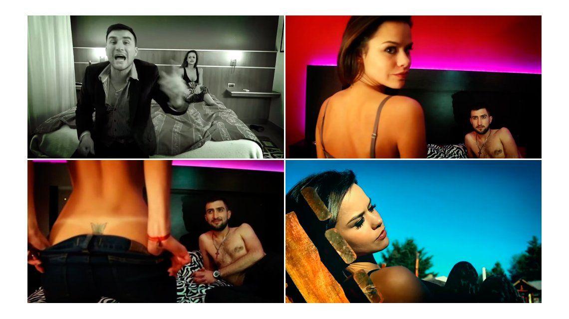 VIDEO: María del Mar se desnudó en un clip