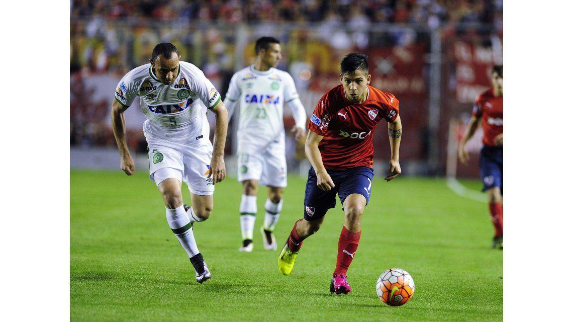 Independiente no logró quebrar a Chapecoense en Avellaneda