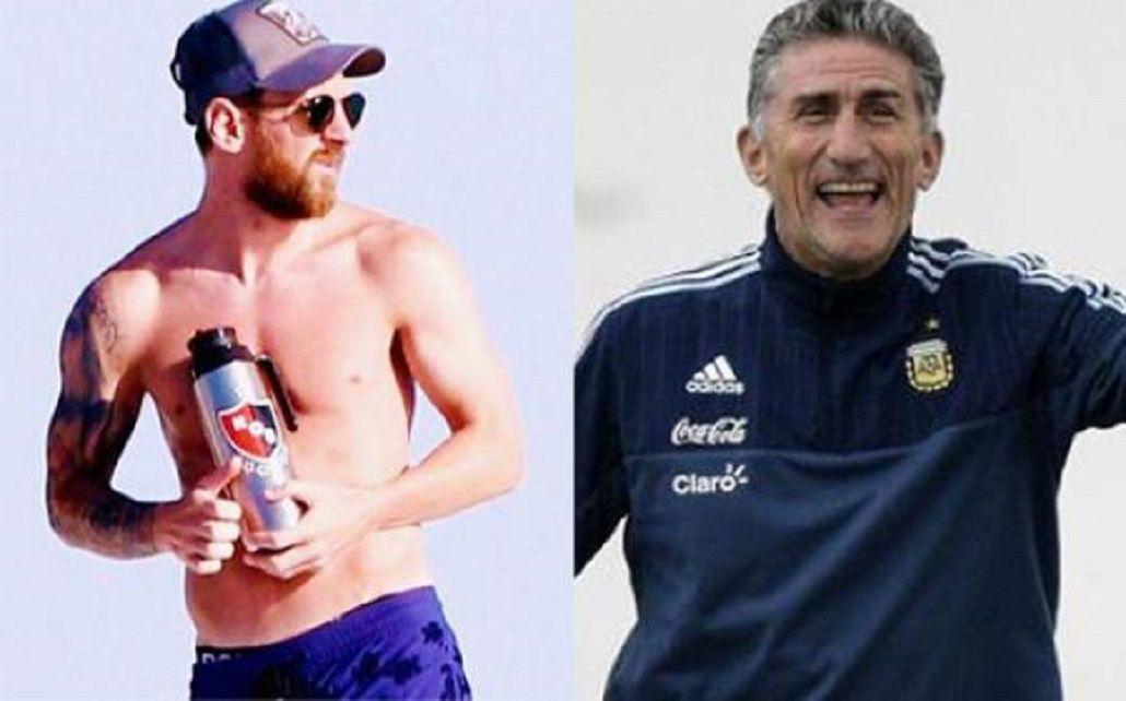 Un canalla: ¿Por qué Bauza no quiere que Messi use el termo de Newells?
