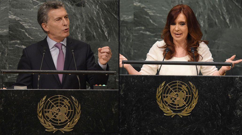 Las diferencias y similitudes entre los discursos de Macri y Cristina