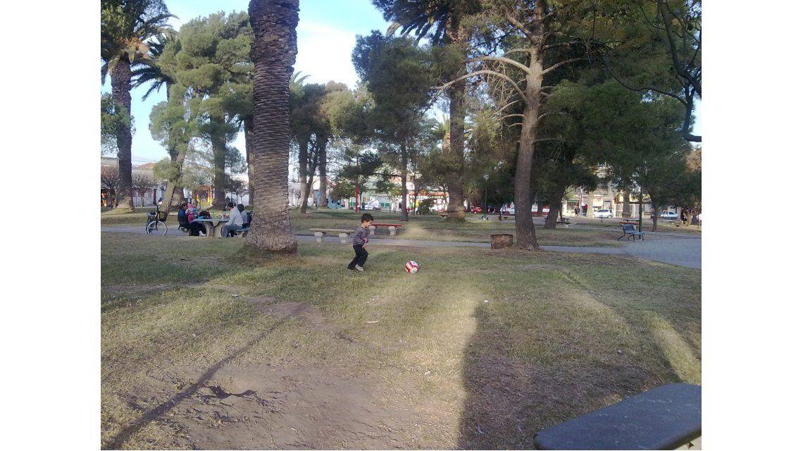 Se hacía pasar por profesor de fútbol y abusó de ocho chicos en Parque Saavedra