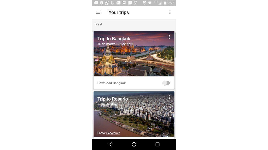 Google Trips, la app para planear tus vacaciones