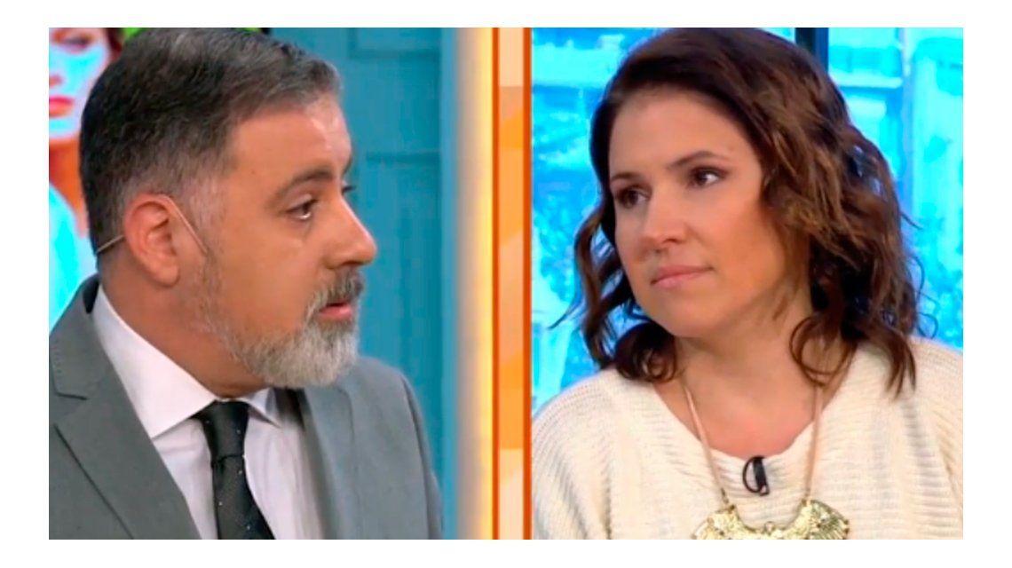 VIDEO: Fuerte cruce en vivo de Doman con Fernanda Iglesias por la violencia de género