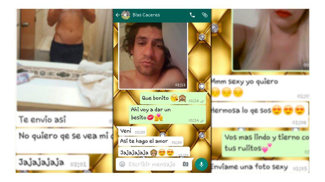 Escracharon a un jugador de Vélez: Quiero sexo oral, pidió por WhatsApp