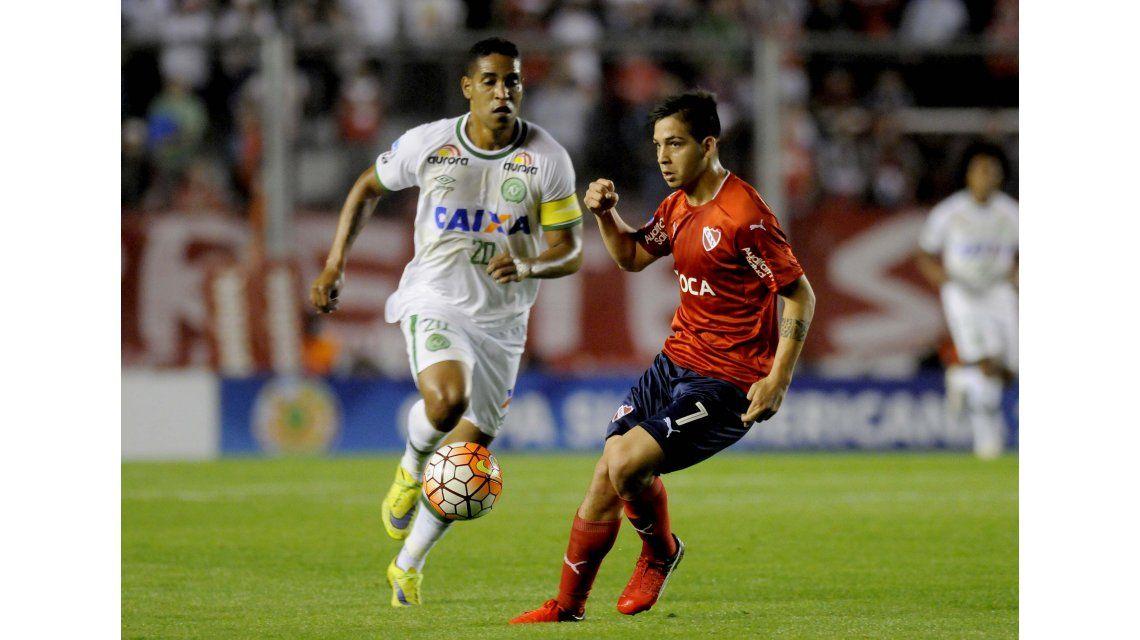 Copa Sudamericana: Independiente vs. Chapecoense y Coritiba vs. Belgrano