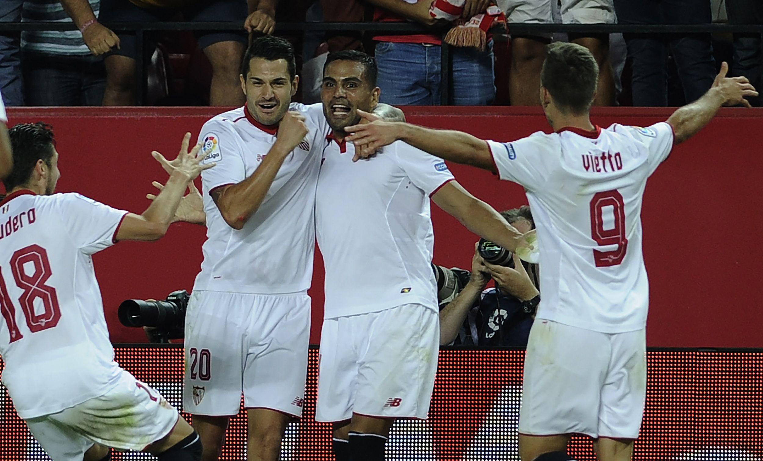 VIDEO: El gol de Mercado que le dio la victoria al Sevilla en el clásico contra el Betis