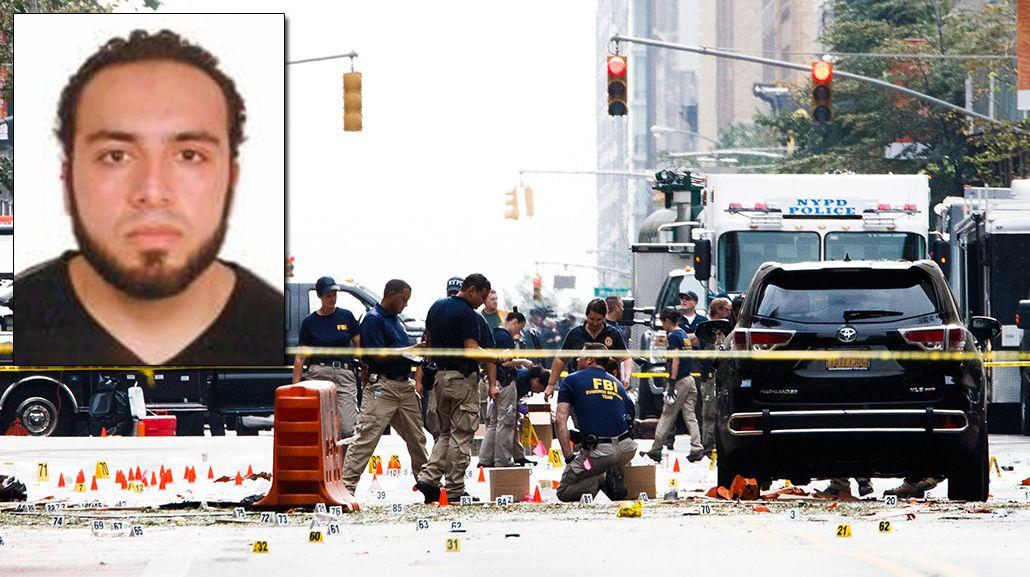 Éste es el principal sospechoso de poner las bombas en Nueva York