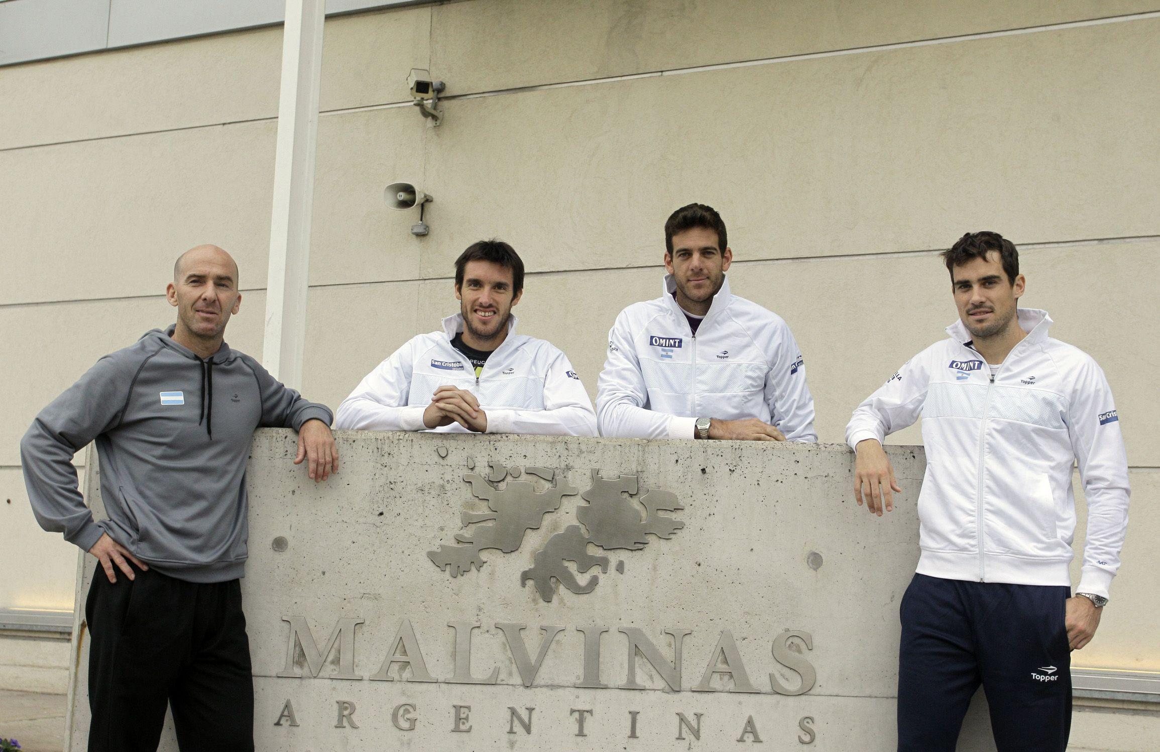 Volver a casa: Argentina debutará ante Italia en la Copa Davis 2017