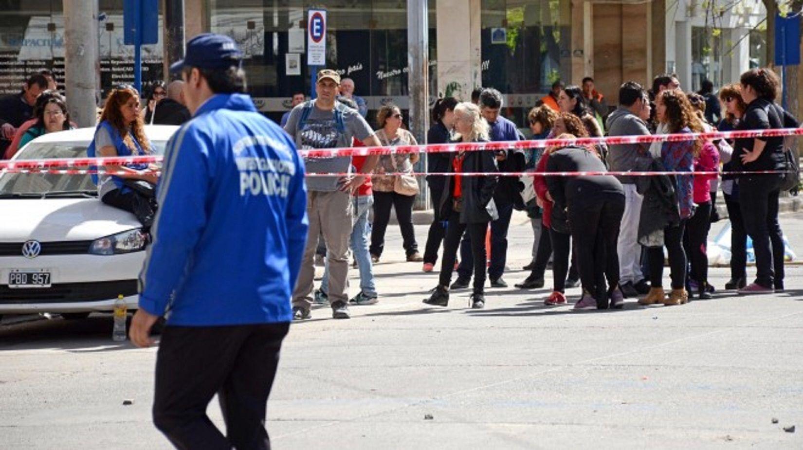 La Policía baleó a un manifestante de UPCN durante una manifestación