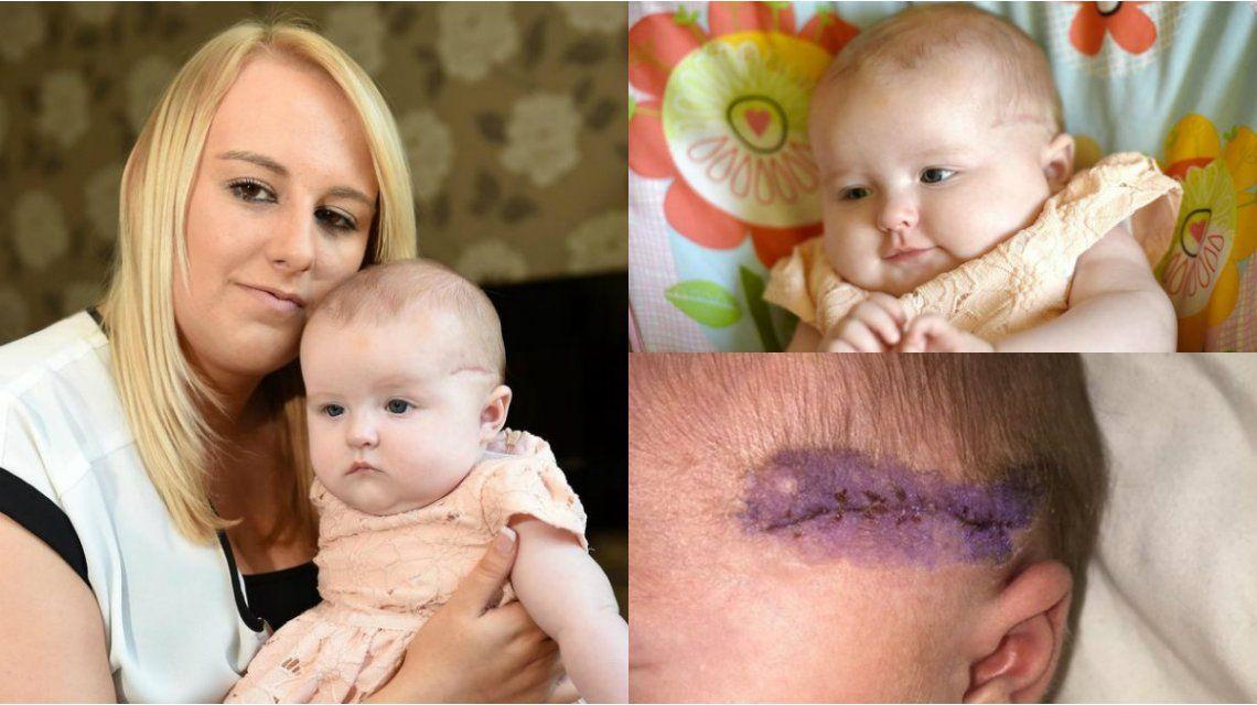 Una madre denunció que le cortaron la cabeza a su hija durante su cesárea