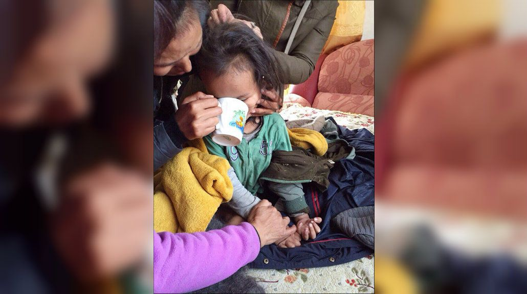 Milagro en Siberia: un nene de tres años sobrevivió 72 horas a la intemperie