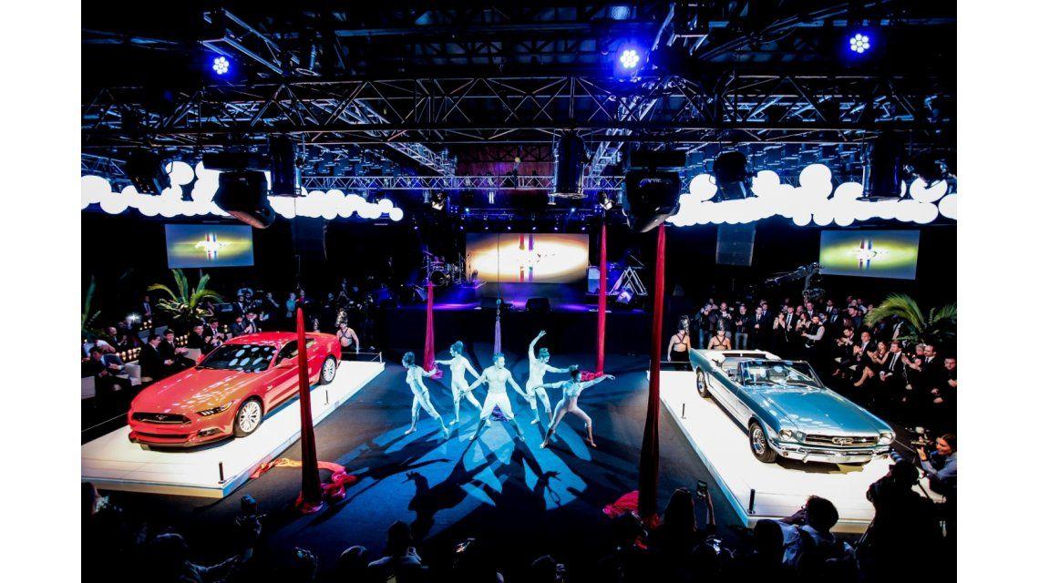Imperdible: Ford inauguró el Mustang Hall