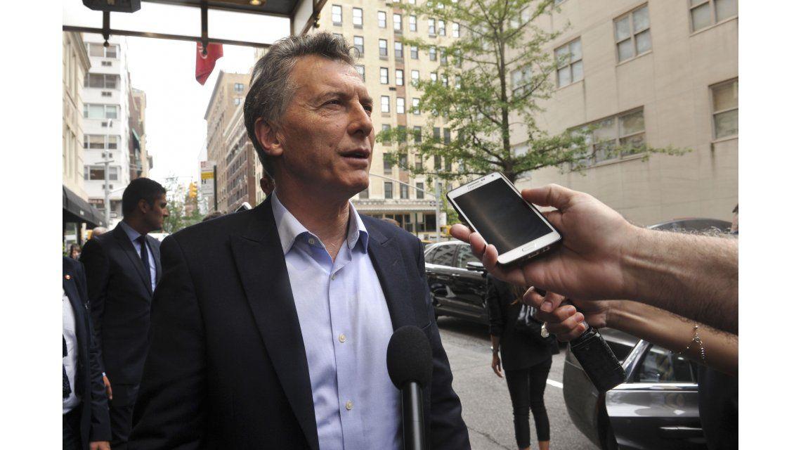 Macri rinde examen este lunes en Wall Street, sin filtro ante inversores