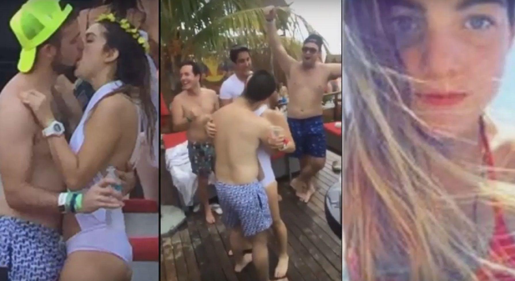 VIDEO: Se descontroló en su despedida de soltera y el novio canceló el casamiento
