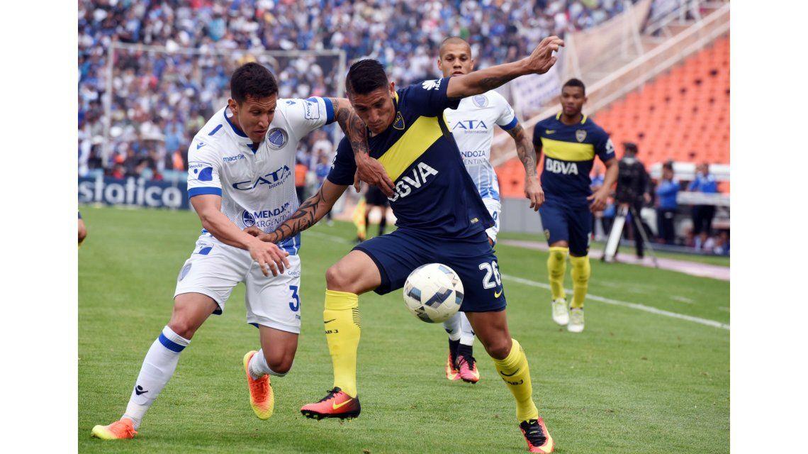 Boca no lo supo aguantar y empató ante Godoy Cruz en Mendoza