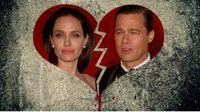 Angelina Jolie y Brad Pitt, separados