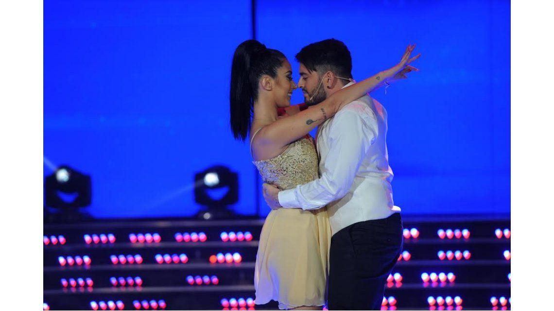 ShowMatch: Diego Junior bailó con su mujer Nunzia Pennino en el ritmo libre