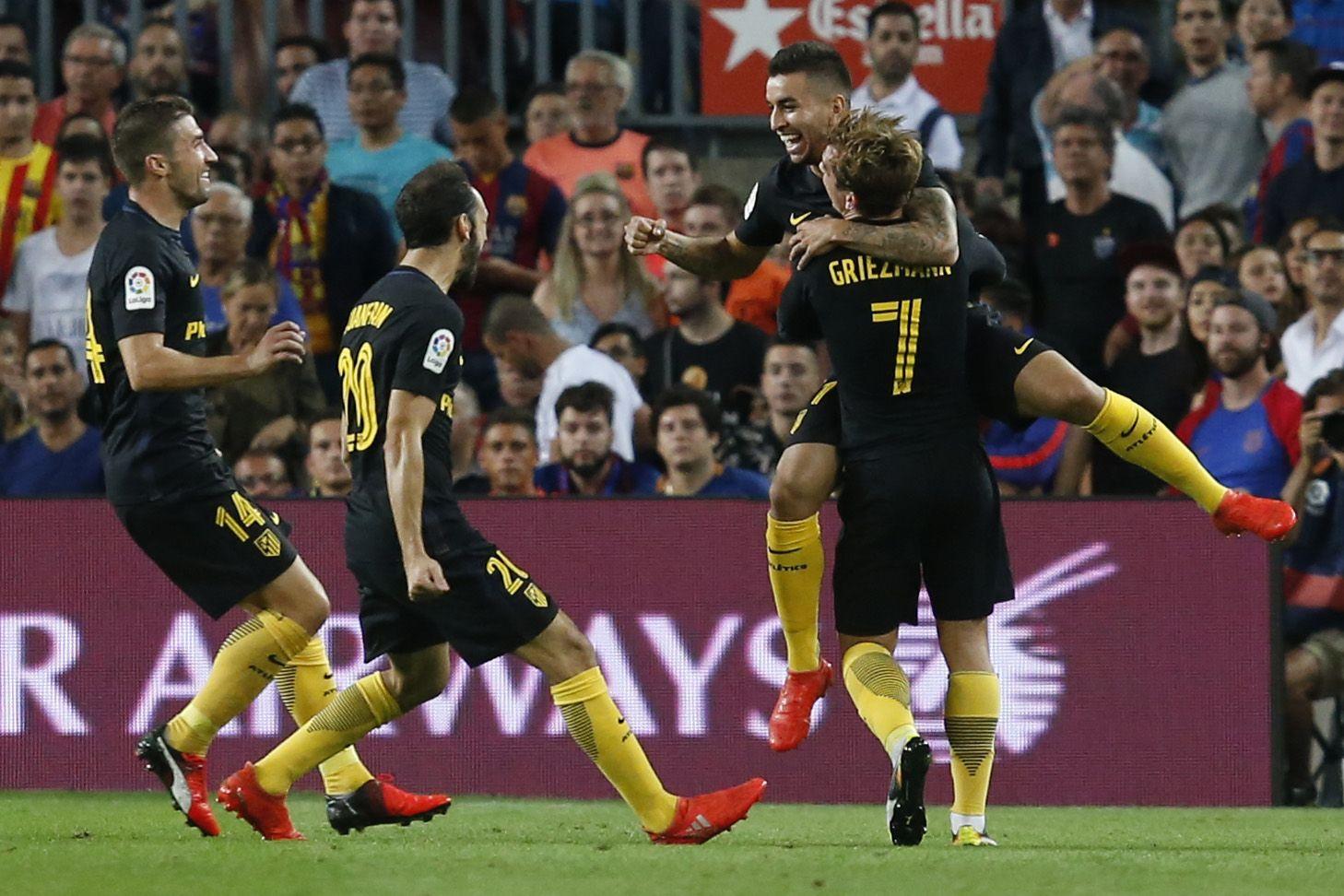 VIDEO: La imperdible definición de Correa que silenció el Camp Nou