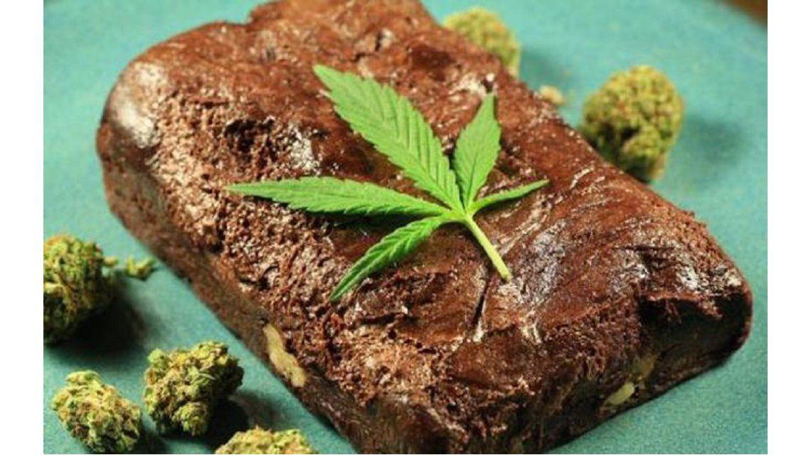 Seis personas tuvieron que ser internadas tras comer una torta con marihuana