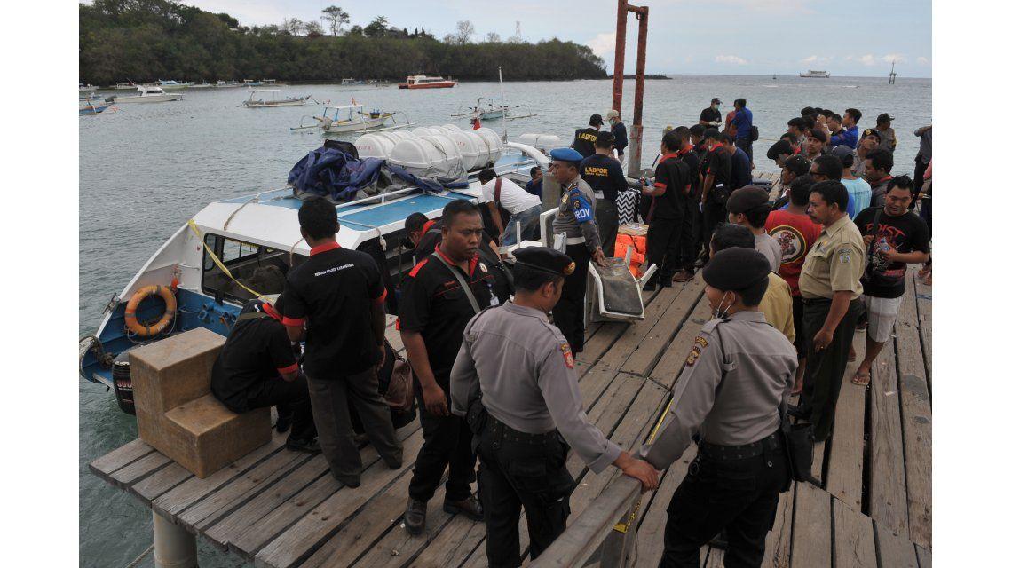 Luna de miel trágica: una española murió por una explosión en Bali