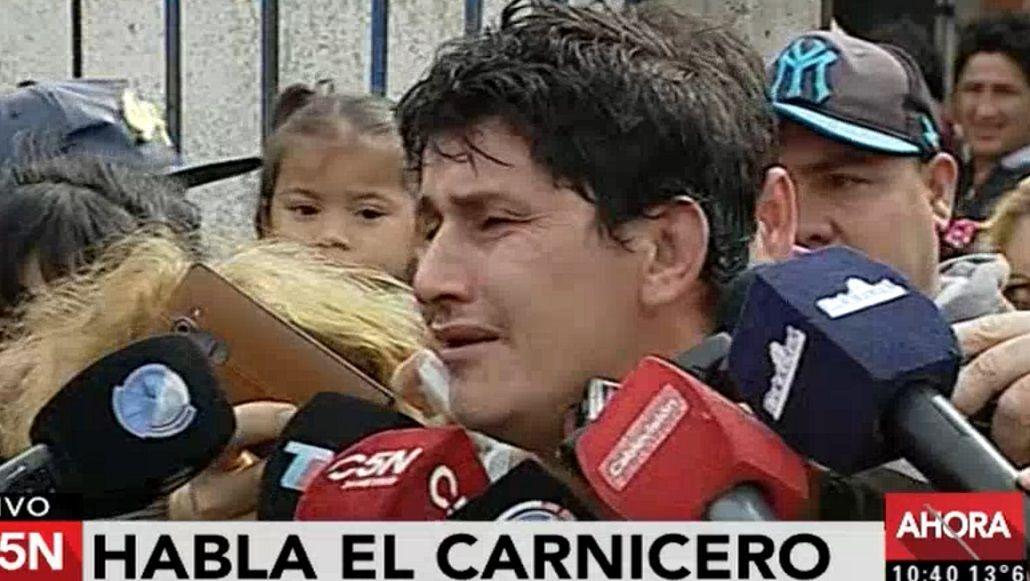 El carnicero de Zárate que mató a un ladrón pidió más seguridad en las calles