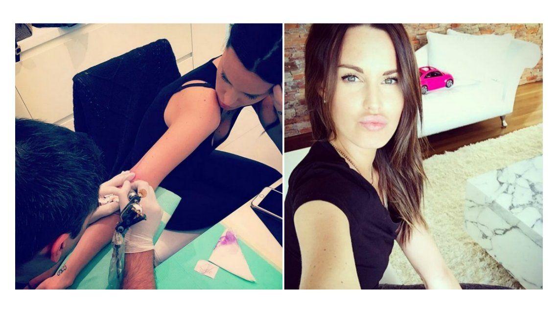 Significativo tatuaje de Natalie Weber tras vencer el cáncer