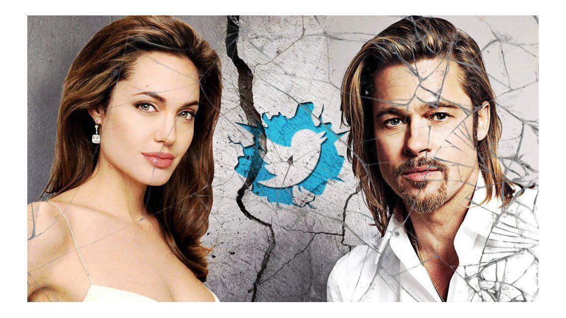 Angelina vs. Brad: ¿quién ganó la batalla en Twitter?