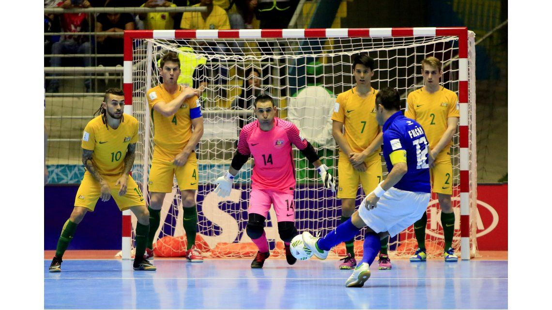 No para: Falcao volvió a deslumbrar con una joyita en el Mundial de futsal
