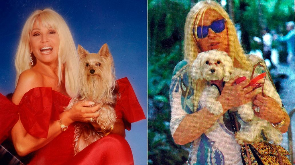 Para no extrañar a Jazmín, Susana Giménez pidió prestado un perro en Estados Unidos