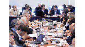 Prat Gay en reunión de comisión de Diputados. Foto archivo.