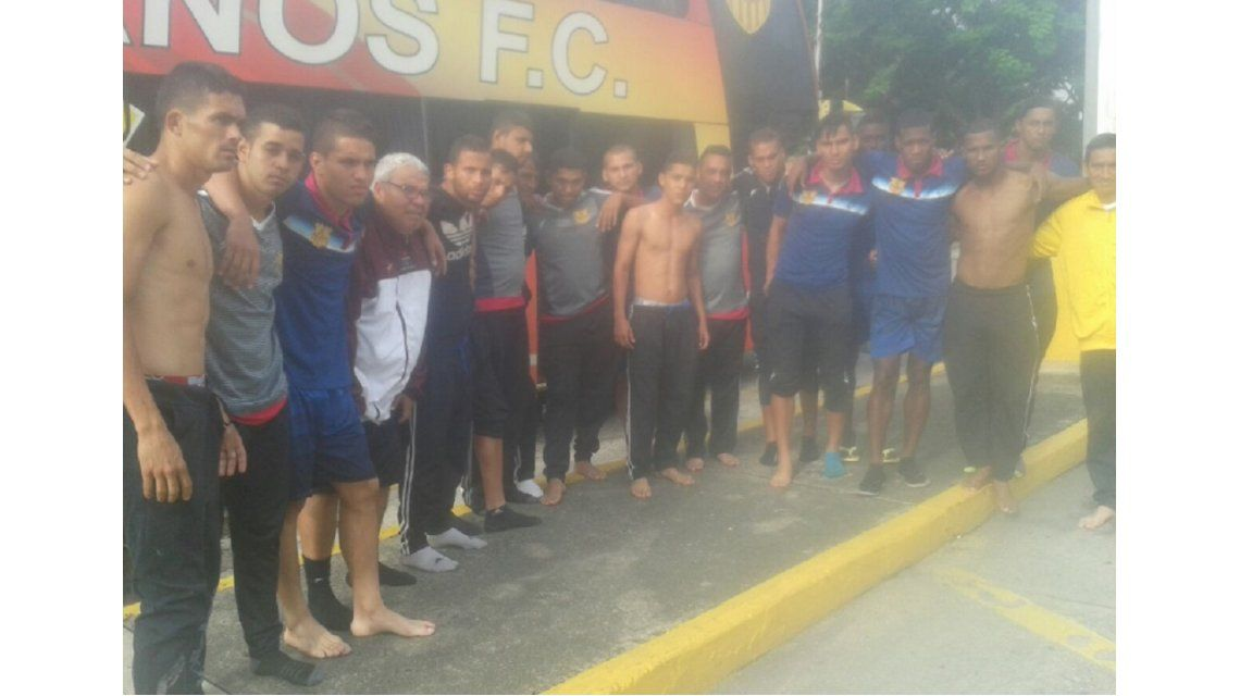Insólito: secuestraron a un plantel de fútbol completo en Venezuela