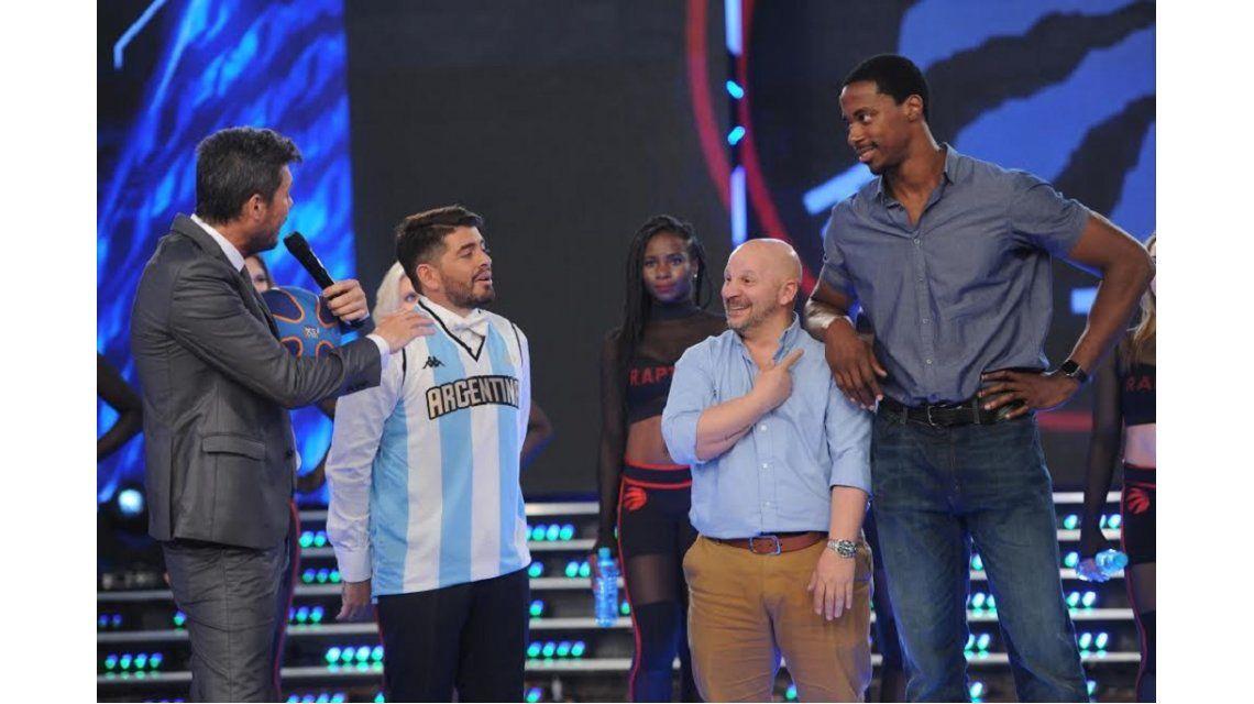 Showmatch: desafío de básquet especial para Diego Jr. y nuevos participantes
