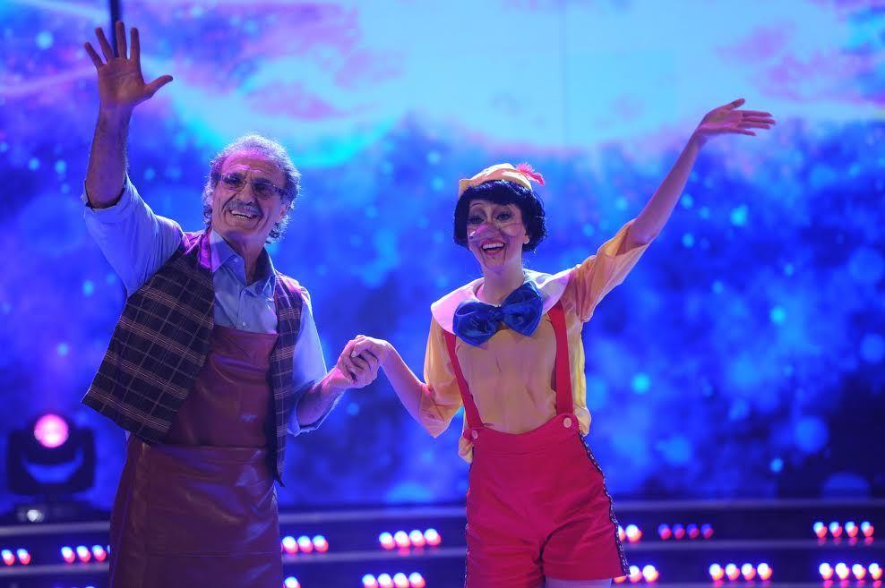 Emotiva y creativa coreografía de los Ruggeri con la historia de Pinocho