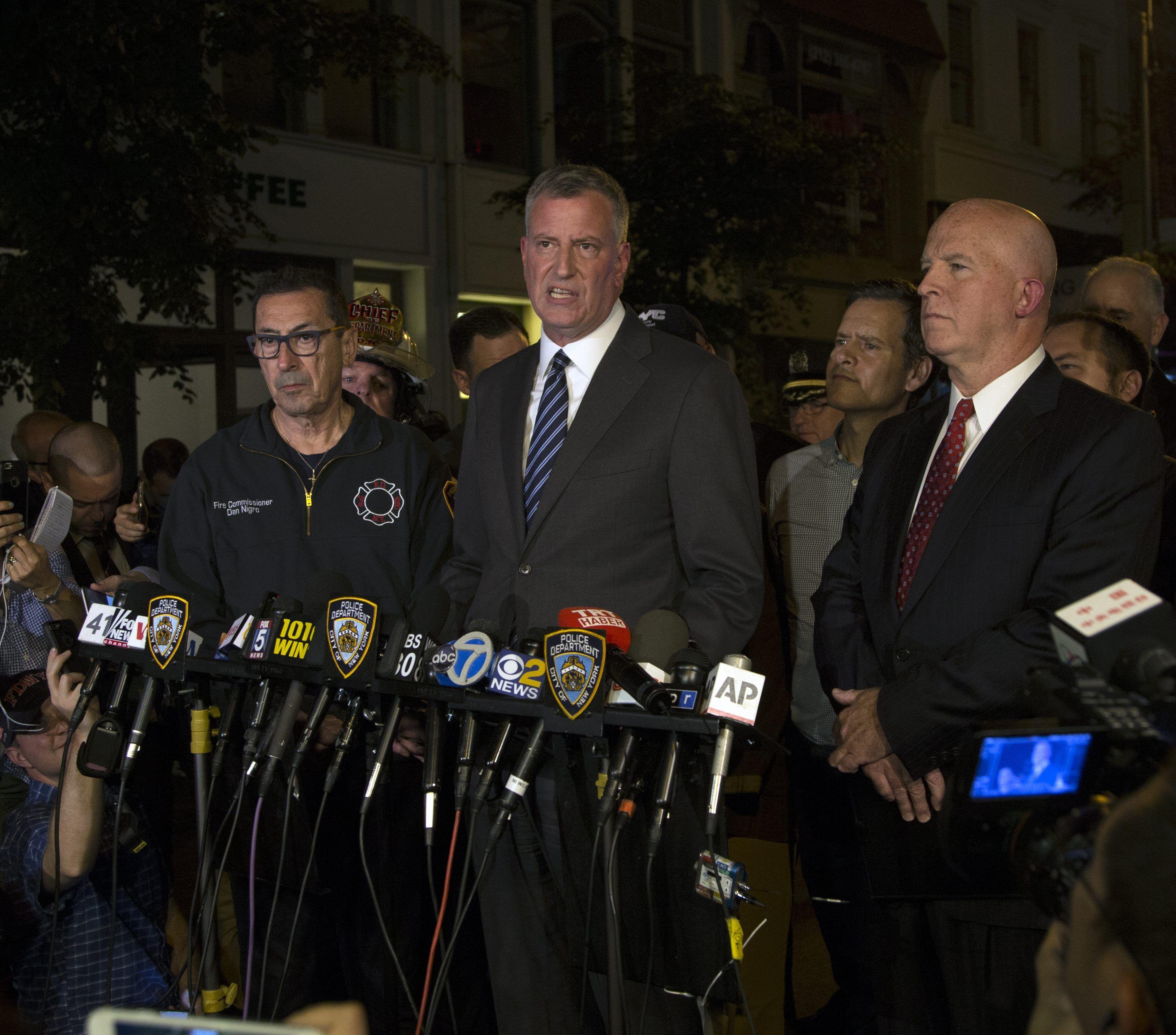 Explosión en Nueva York: para el alcalde fue deliberado