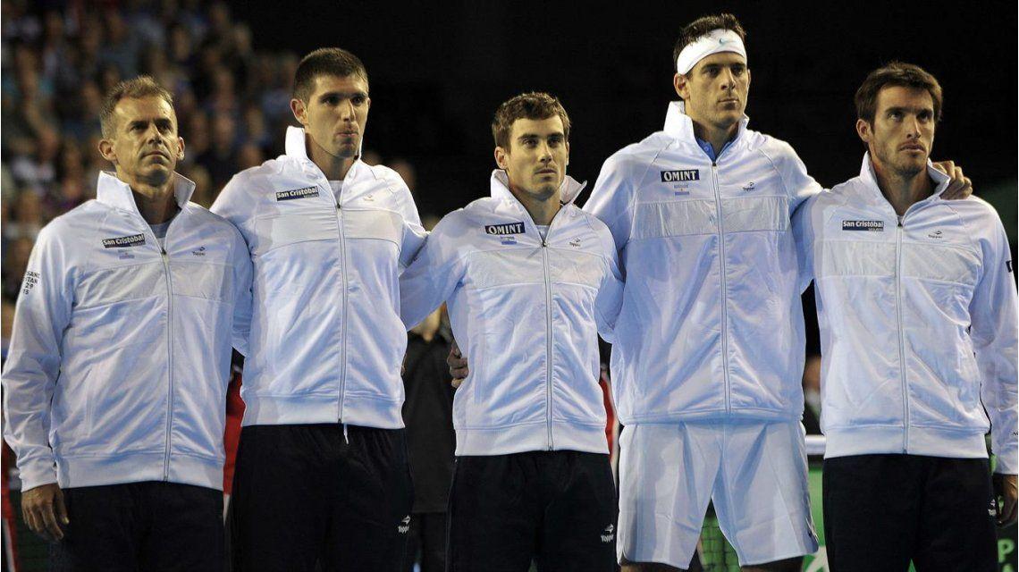 Argentina, sin pareja definida, busca cerrar la serie ante Gran Bretaña  en dobles