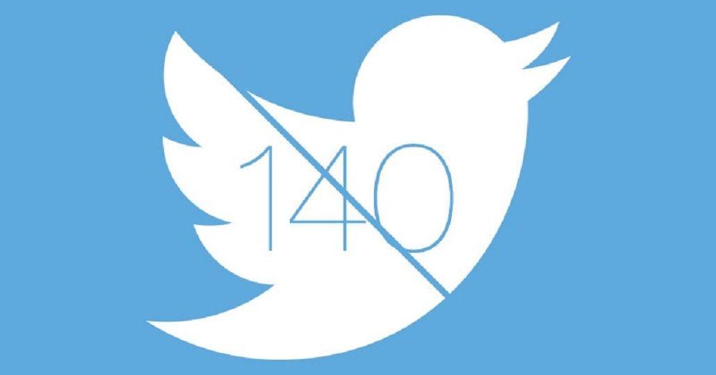 Twitter ya permite escribir más de 140 caracteres