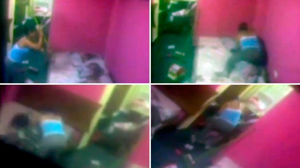 Horror: les pegaba a sus tres hijos y los asfixiaba con acolchados