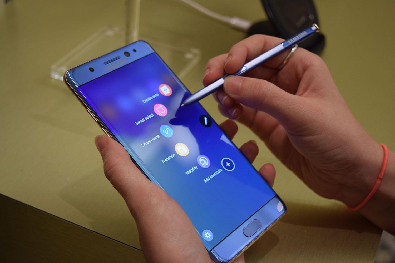 Samsung limita capacidad de recarga en baterías de los Galaxy Note 7