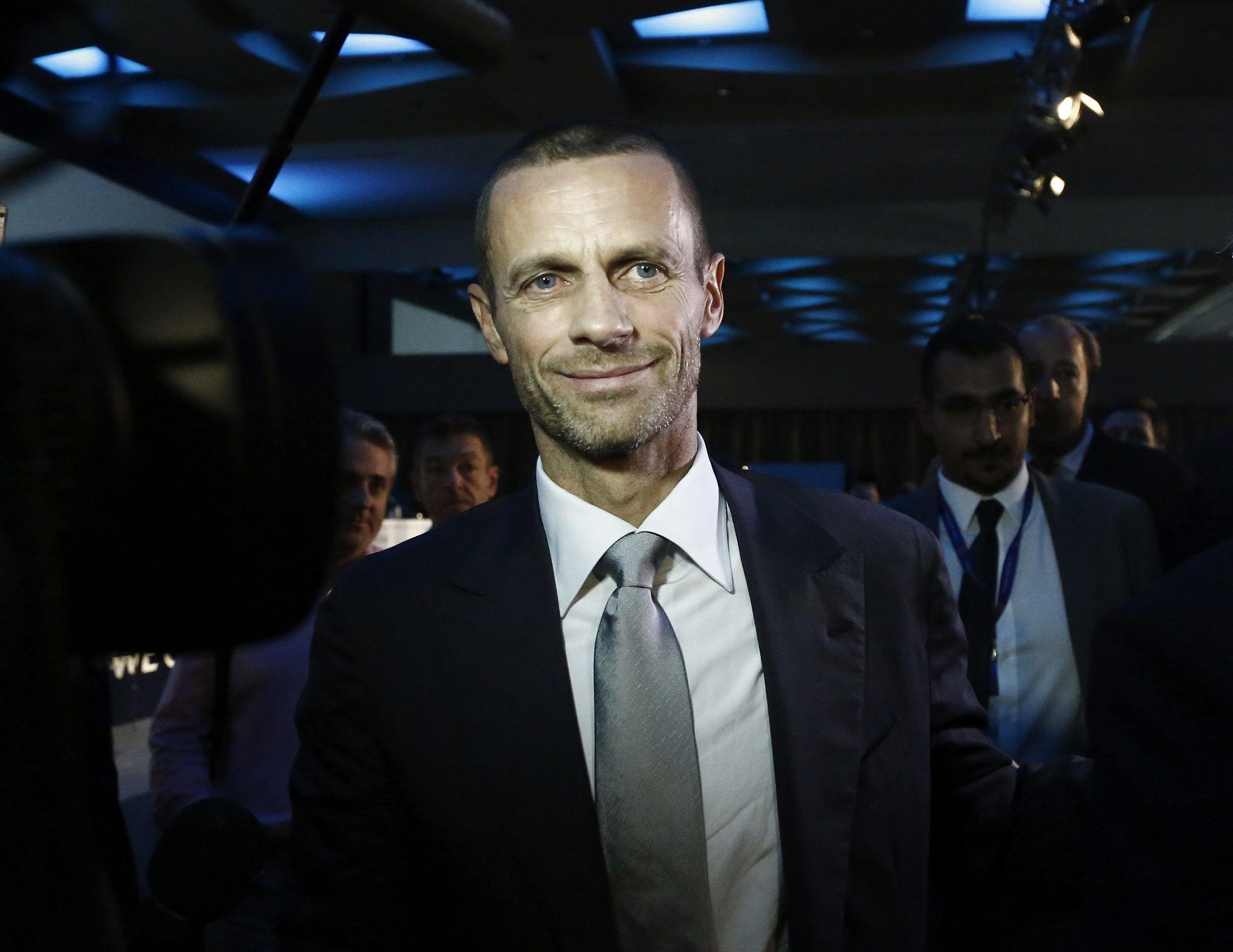Un esloveno es el nuevo presidente de la UEFA en lugar de Michel Platini
