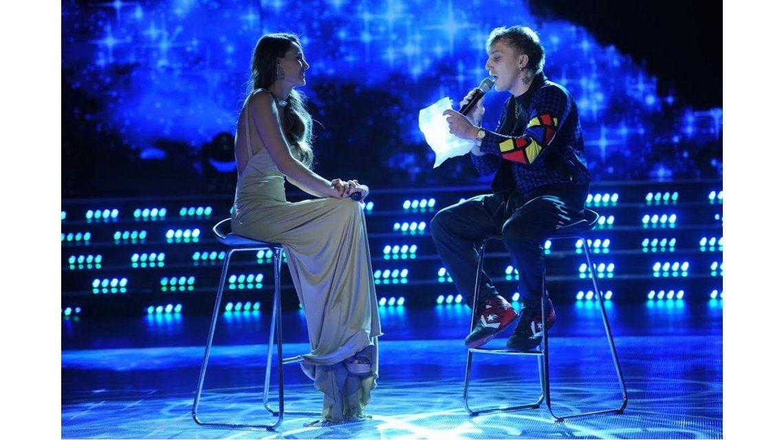 El Polaco le cantó a Pampita y ella retrucó: ¿Estás jugando a dos puntas?