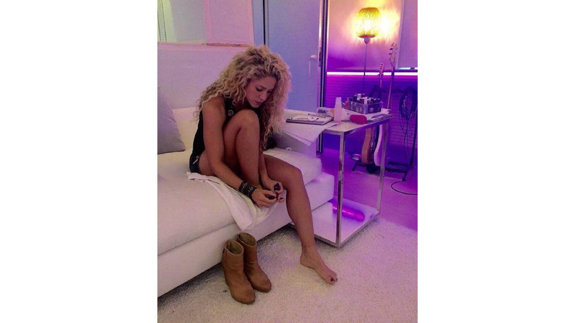 La polémica foto de Shakira, ¿con un juguete erótico?