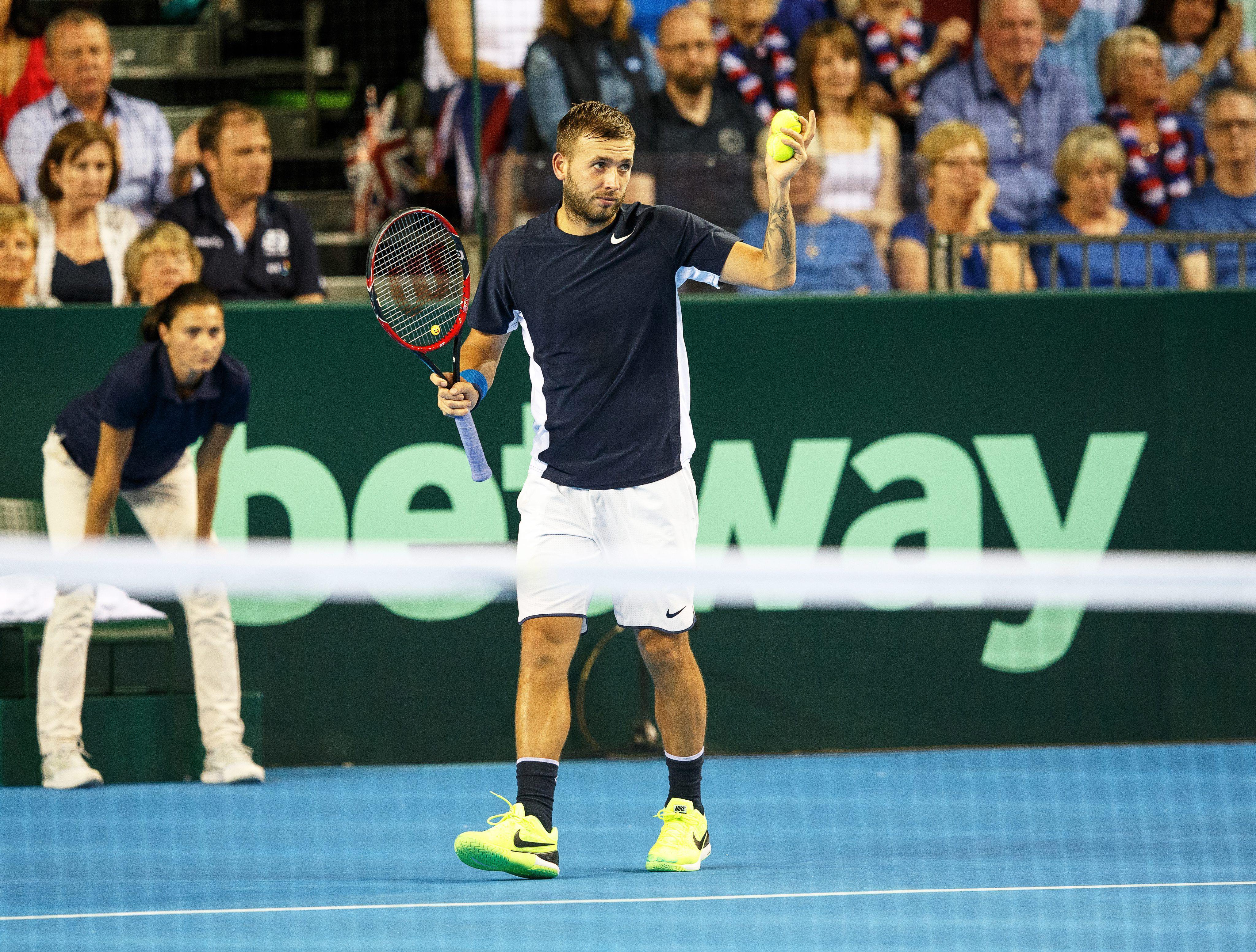 Copa Davis: Gran Bretaña vs. Argentina