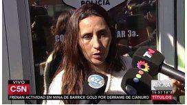 La esposa del carnicero contra el fiscal: Dejá de defender a los chorros