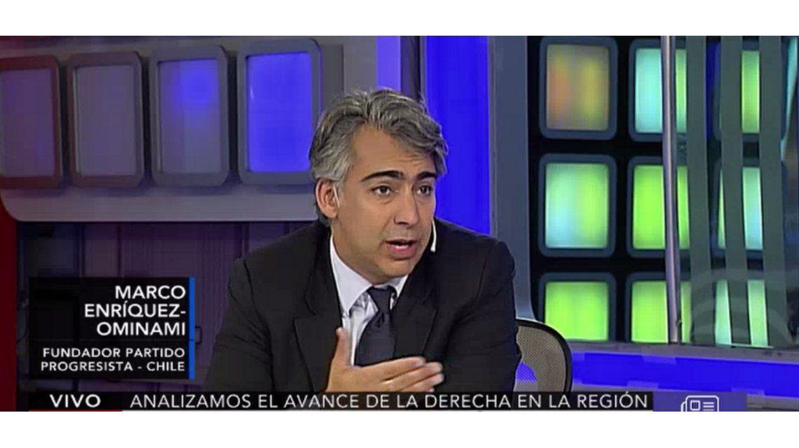 Enríquez Ominami: En Chile hay malestar por el modelo