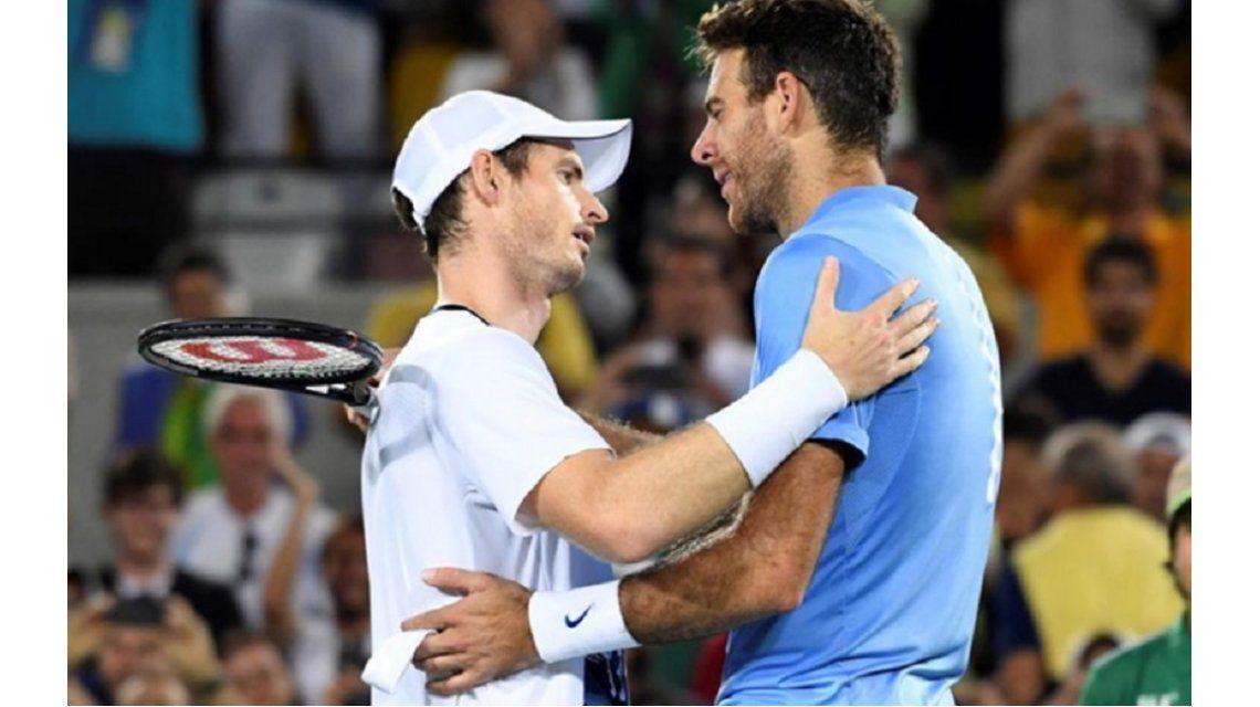 Copa Davis: Del Potro y Murray abren la serie de semifinales en Glasgow