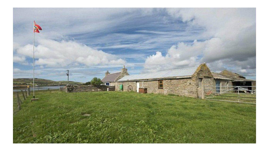 Ponen a la venta una isla de Escocia por casi 400 mil dólares