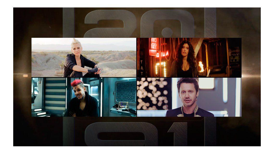 VIDEOS: ¿Cómo serán Vicuña, Luz Cipriota, y más famosos en el 2091?