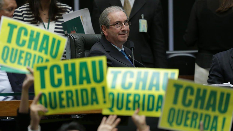 Cunha, aliado clave de Temer y artífice de la destitución de Dilma, fue removido de su cargo